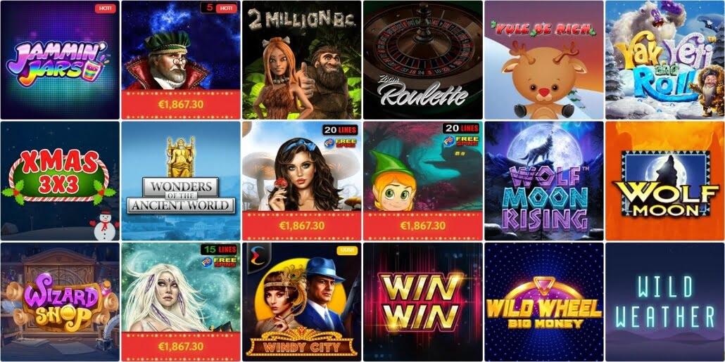 SlotWolf – Erfahrungen & Testbericht: Eine Spielauswahl