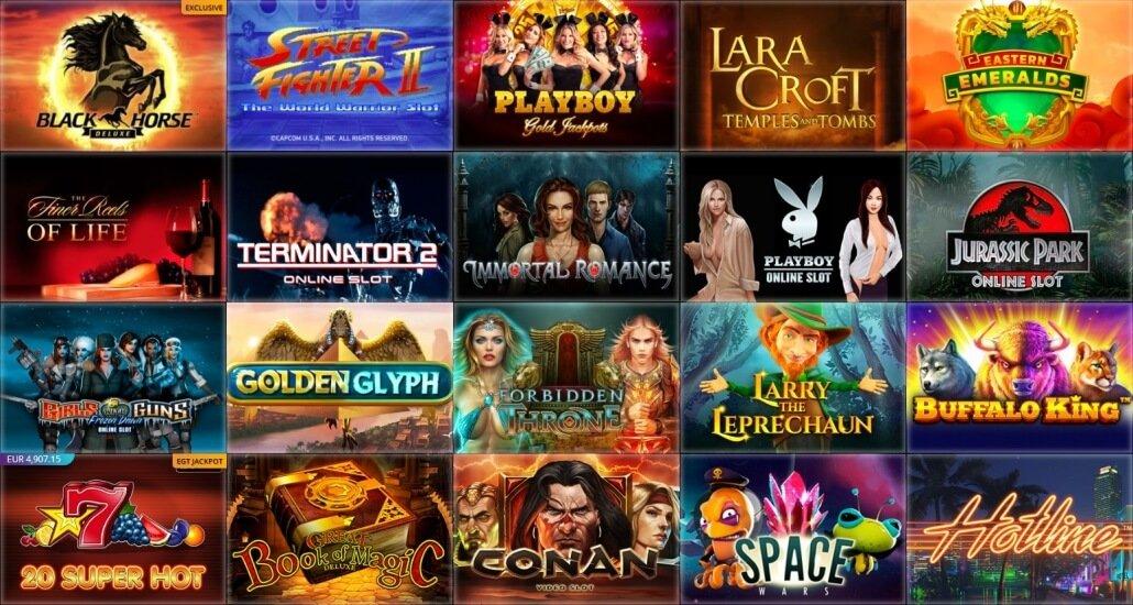 SlotV – Erfahrungen & Testbericht: Eine Spielauswahl